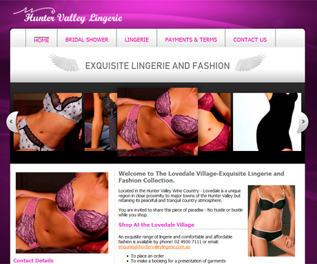 Hunter Valley Lingerie